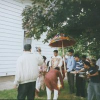 Baba in procession
