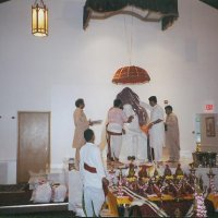 First darshan of Baba